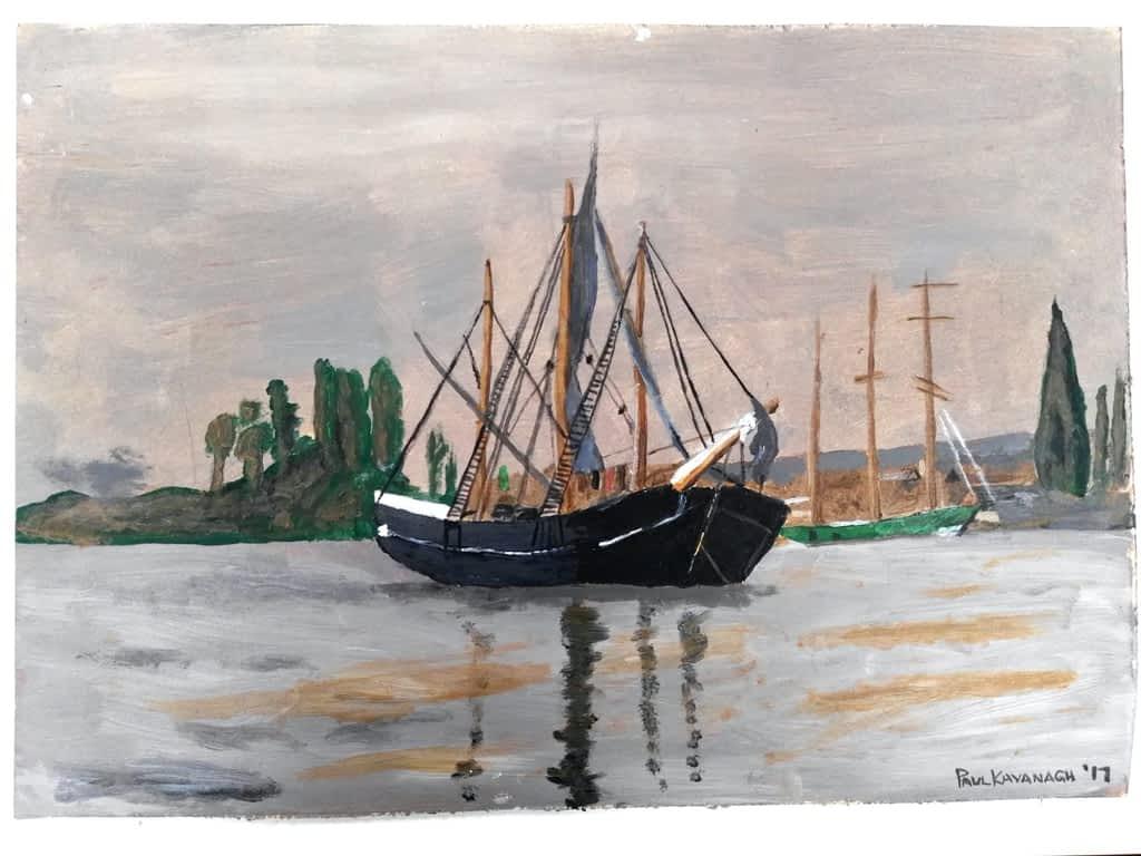 wishing I was sailing