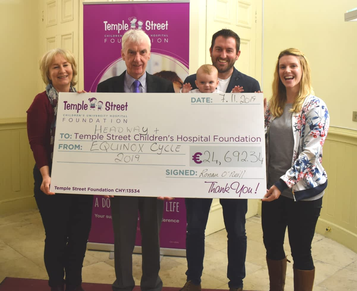 Equinox Charity Cheque